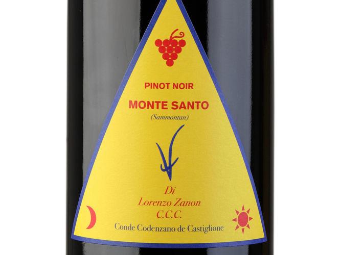 Etichetta Pinot Nero Valdepol Monte Santo