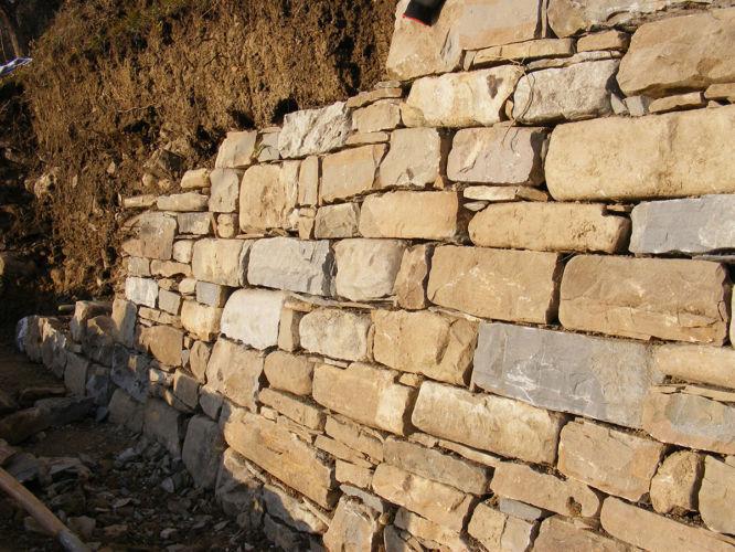 Vigna Corletta Ricostruzione Muri a Secco